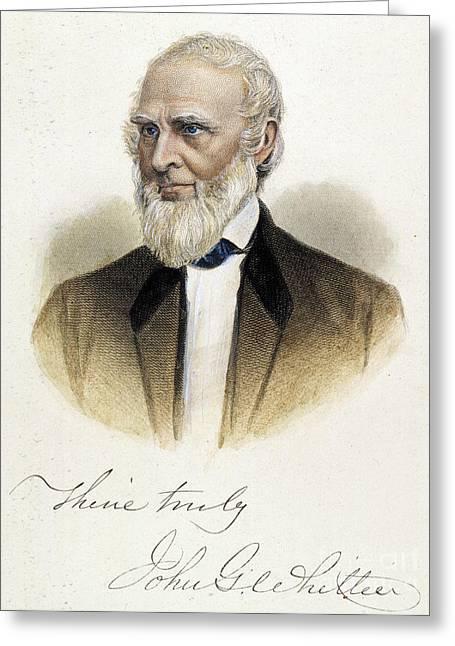 John Greenleaf Whittier Greeting Card by Granger