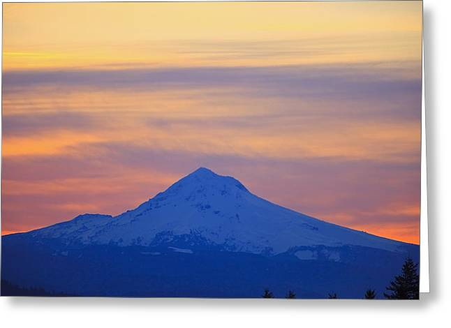 Oregon, United States Of America Greeting Card by Craig Tuttle
