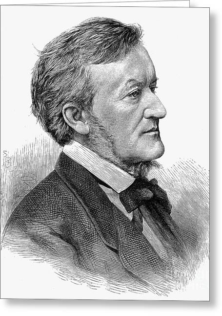 Richard Wagner (1813-1883) Greeting Card by Granger
