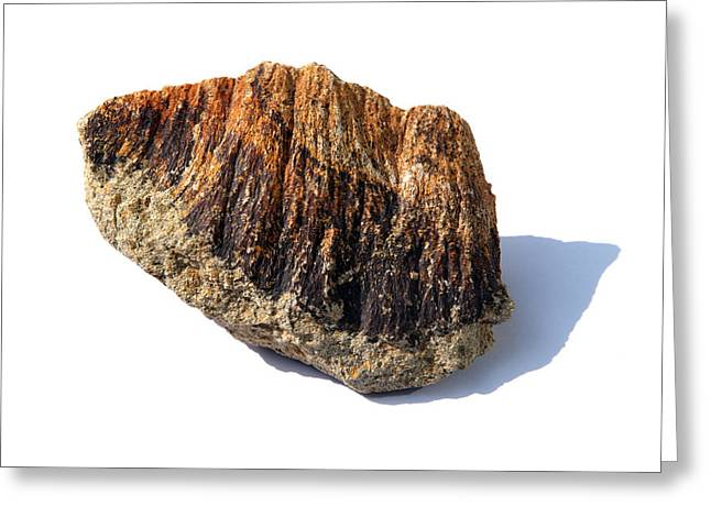 Rock From Meteorite Impact Crater Greeting Card