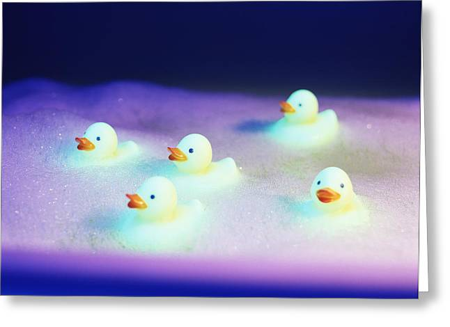 Rubber Ducks Greeting Card