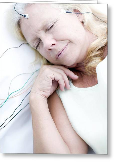 Sleep Research Greeting Card by