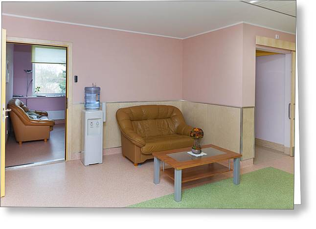 The Nursing Centre A Building In P�rnu Greeting Card by Jaak Nilson