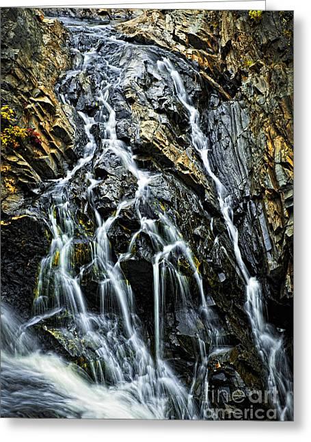 Waterfall Greeting Card by Elena Elisseeva
