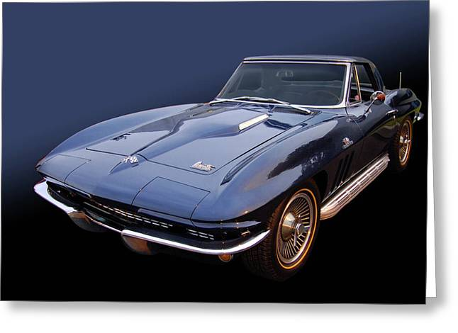 66 Big Block Vette Greeting Card