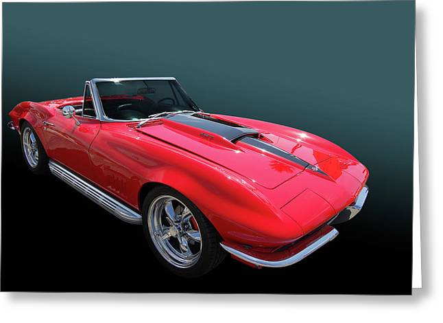 Greeting Card featuring the photograph 67 427 Roadster by Bill Dutting