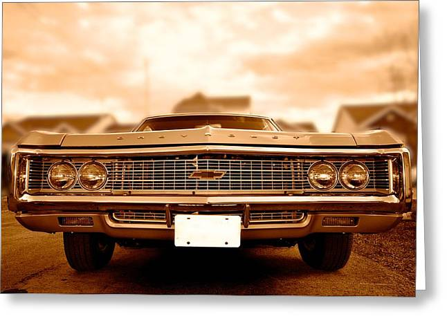 69 Impala Greeting Card