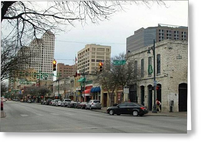 6th Street In Winter Greeting Card by James Granberry