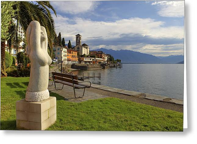 Brissago - Ticino Greeting Card