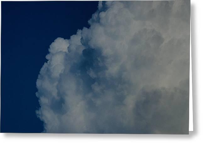 Cumulonimbus Clouds Greeting Card by One Rude Dawg Orcutt