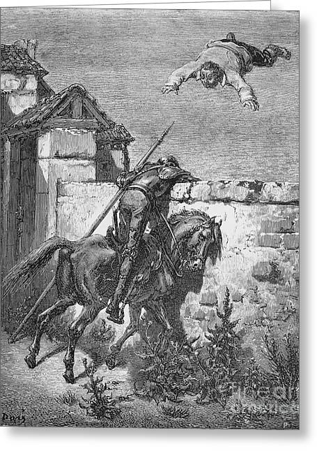 Don Quixote Greeting Card by Granger