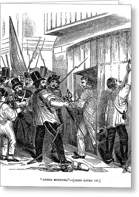 France: Revolution Of 1848 Greeting Card by Granger