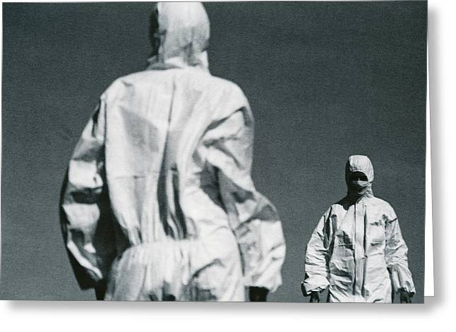 Protective Clothing Greeting Card