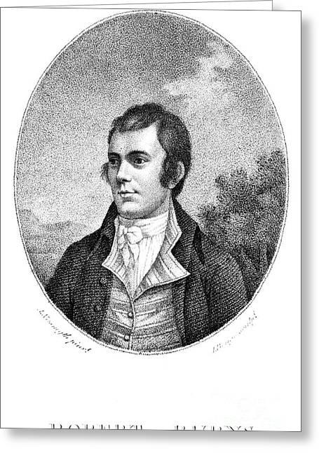 Robert Burns (1759-1796) Greeting Card by Granger