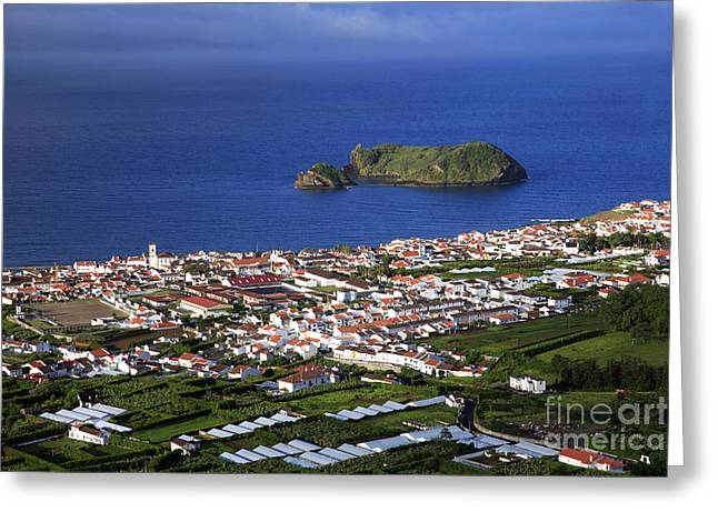 Vila Franca Do Campo Greeting Card