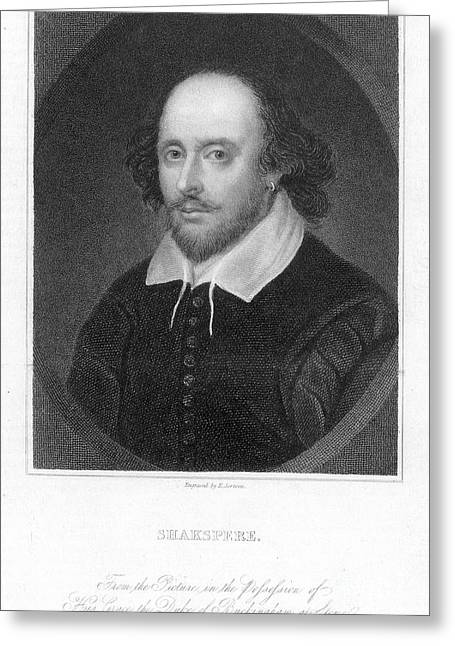 William Shakespeare Greeting Card by Granger