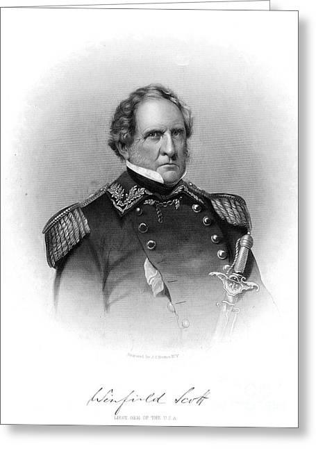 Winfield Scott (1786-1866) Greeting Card