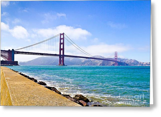75 Years - Golden Gate - San Francisco Greeting Card