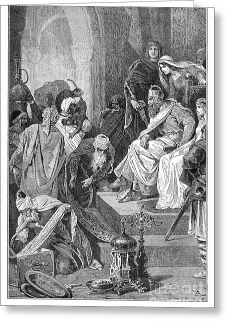 Charlemagne (742-814) Greeting Card by Granger