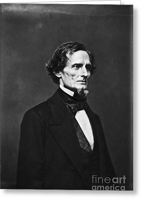 Jefferson Davis (1808-1889) Greeting Card