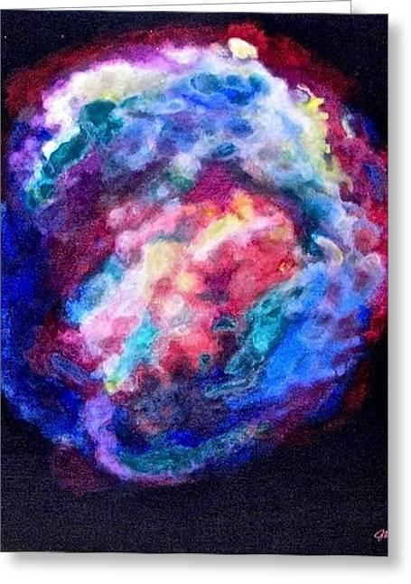 Remnants Of Kepler's Supernova Greeting Card by Jim Ellis