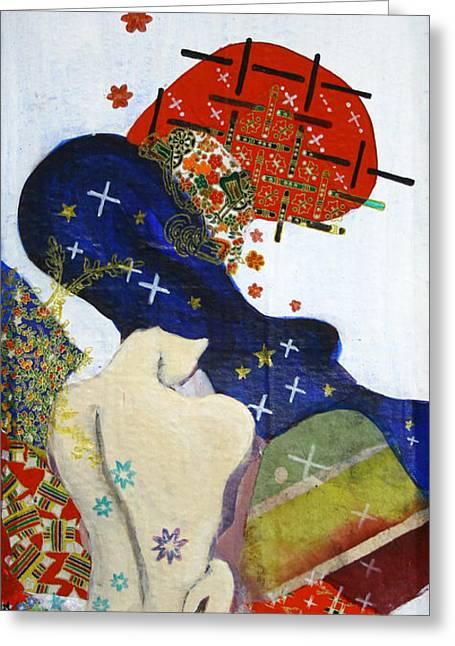 Ubume Greeting Card by Jung ji Lee