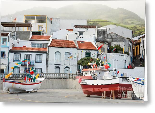 Vila Franca Do Campo Greeting Card by Gaspar Avila