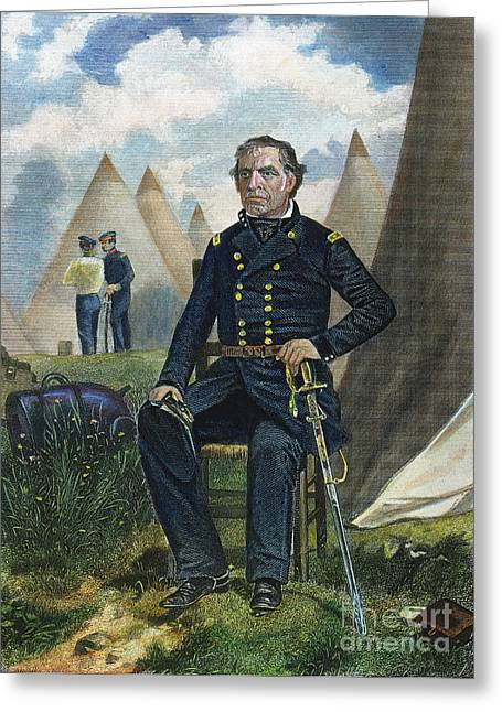 Zachary Taylor (1784-1850) Greeting Card by Granger