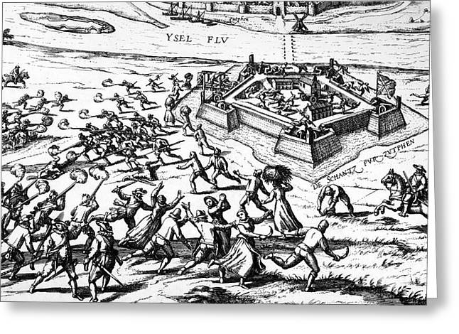 80 Years War, 1591 Greeting Card