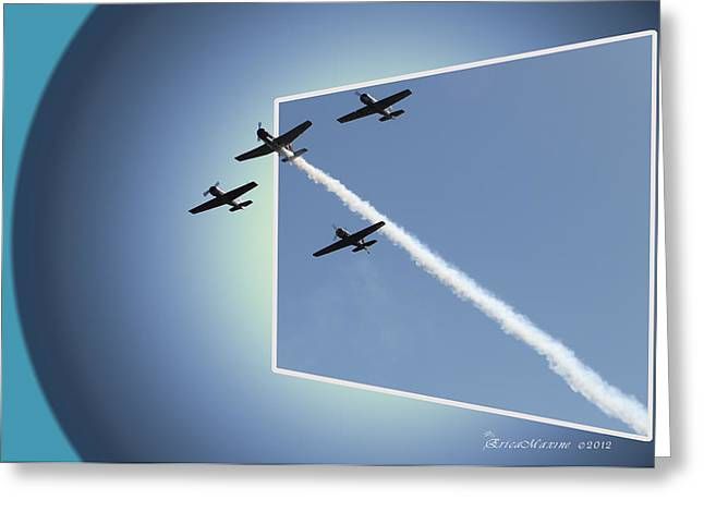 8027 Letting Off Steam Greeting Card by EricaMaxine  Price