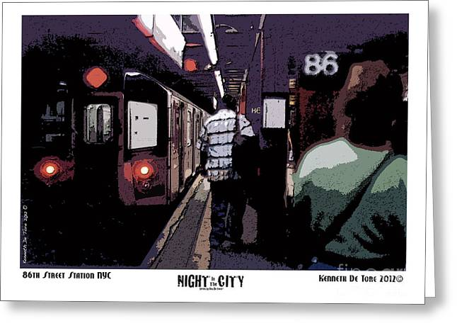 86th Street Greeting Card