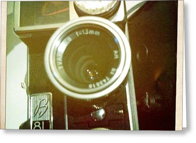 #8mm #bolex #paillard #film Greeting Card