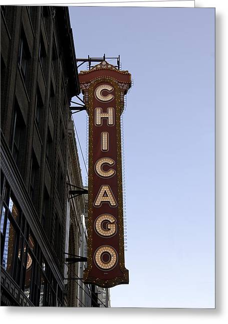 Chicago Architecture Greeting Card by Paul Plaine