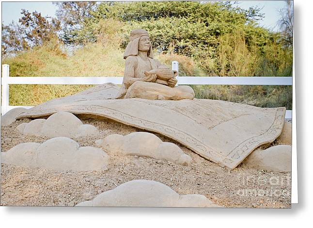 Fairytale Sand Sculpture  Greeting Card by Sv