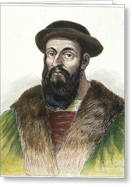 Ferdinand Magellan Greeting Card