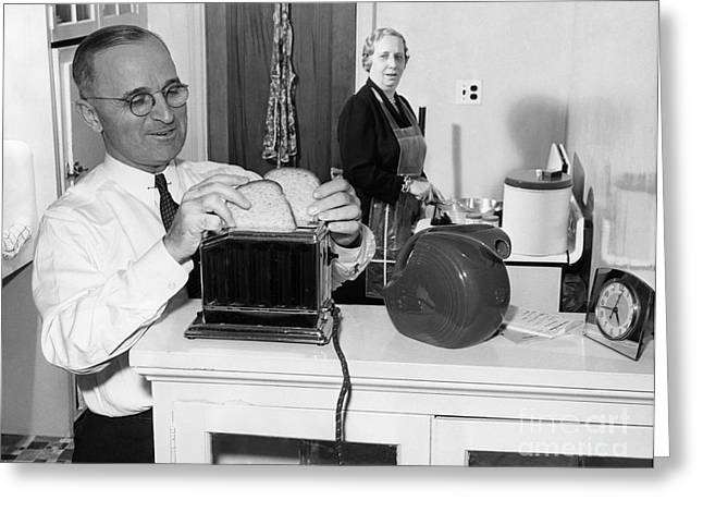 Harry S. Truman (1884-1972) Greeting Card by Granger