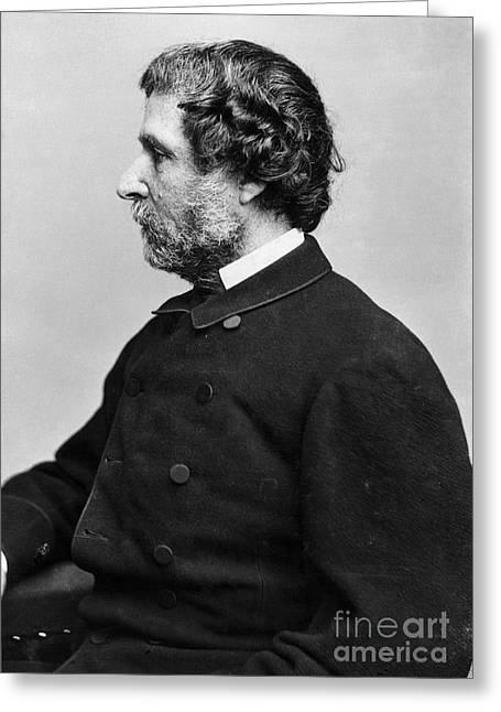 John C. Fremont (1813-1890) Greeting Card by Granger