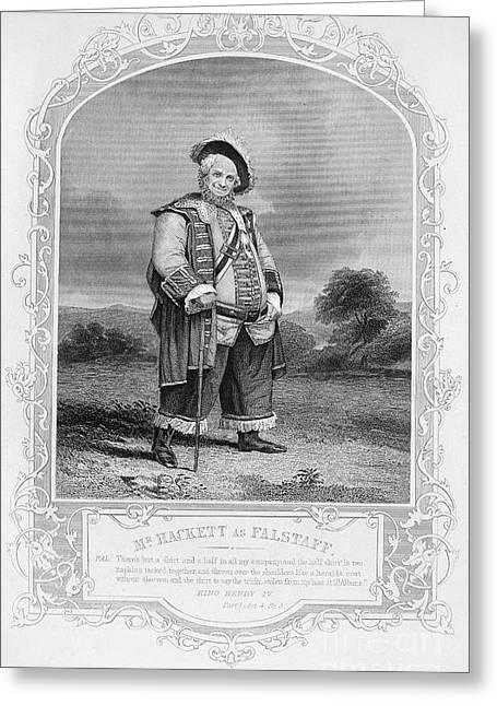 Shakespeare: Henry Iv Greeting Card by Granger