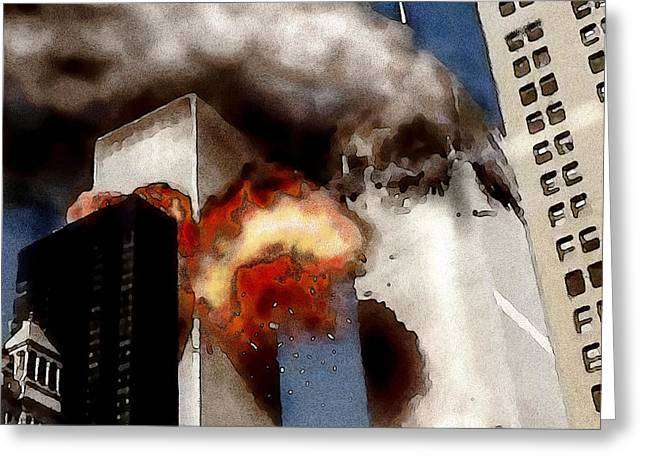 911 2 Greeting Card by Jann Paxton