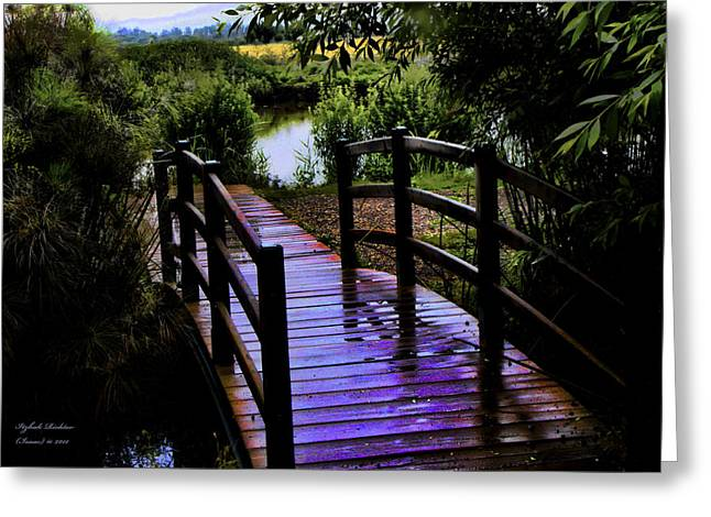 A Bridge Over Troubled Water Greeting Card