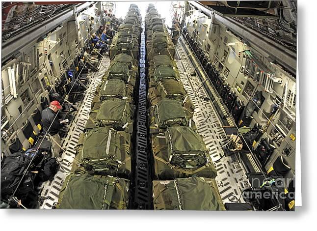 A C-17 Globemaster IIi Cargo Aircraft Greeting Card by Stocktrek Images