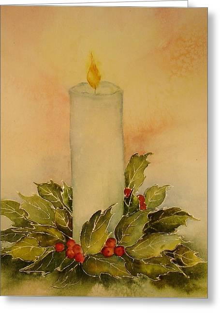 A Candle For Peace Greeting Card