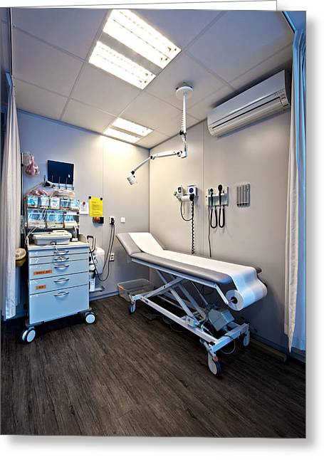 Medical Supplies Greeting Cards - A City Drop-in Or Emergency Medical Greeting Card by Corepics
