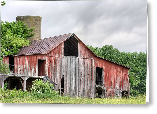 A Cloudy Day Greeting Card by JC Findley