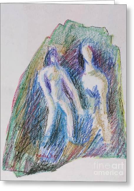 A Couple Greeting Card by Nedunseralathan R