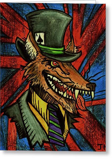 A Dapper Rogue Greeting Card by John  G L Horvath