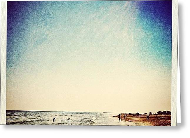 A Day At The #beach 2 Months Ago Greeting Card by Wilbert Claessens