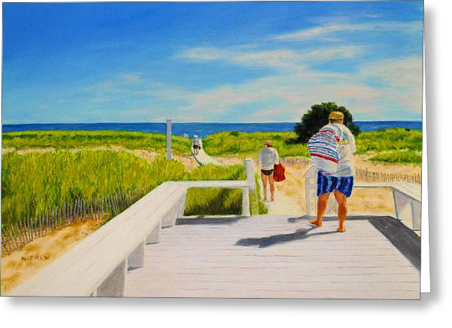 A Day For The Beach Greeting Card