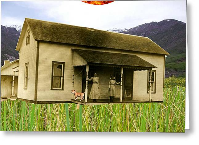 A Day In The Country  Greeting Card by Welte A And T