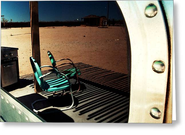 A Day In The Desert Greeting Card by Aurica Voss